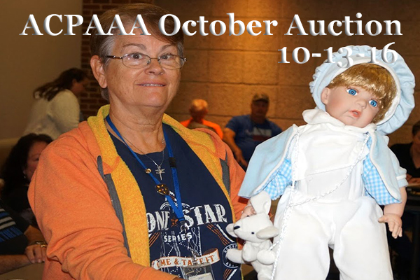 ACPAAA October Auction 2016