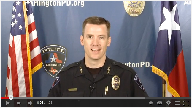 Citizens Assisting Police - Arlington Police Chief Will Johnson